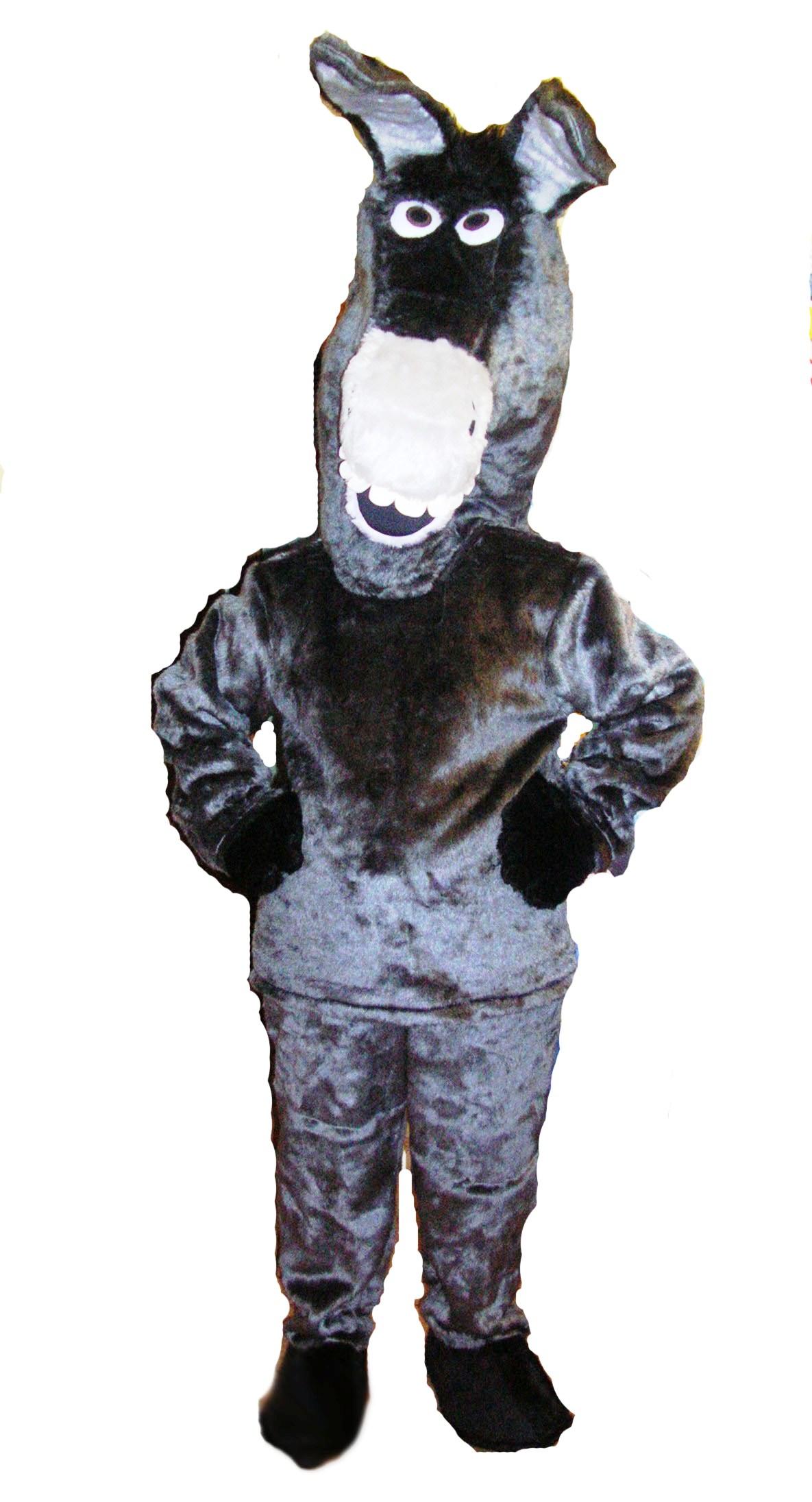 Donkey Outfit, 2 person Donkey Costume, Style of Shrek Donkey