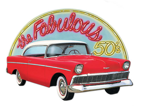 fabulous_50s_car_decoration_cutout