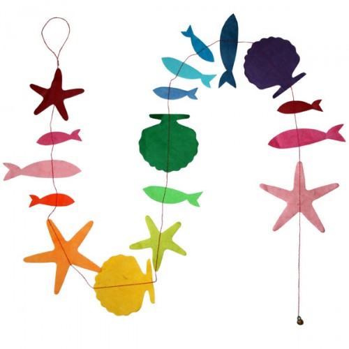 creatures_of_the_sea_garland