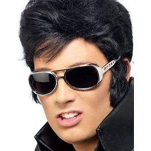Elvis Sunglasses Accessory Gold 70's Cool Shades