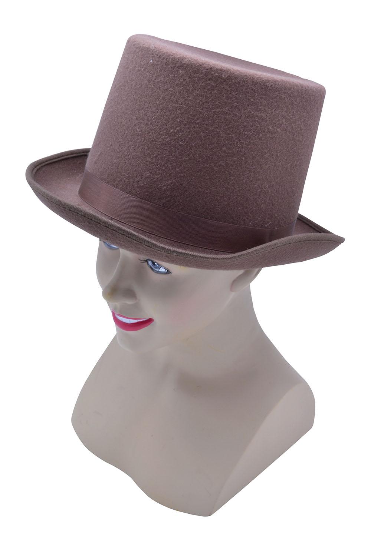Brown_felt_top_Hat
