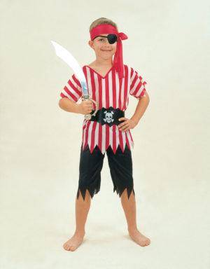 Pirate Boy Costume, Kids Smee Pirate Fancy Dress