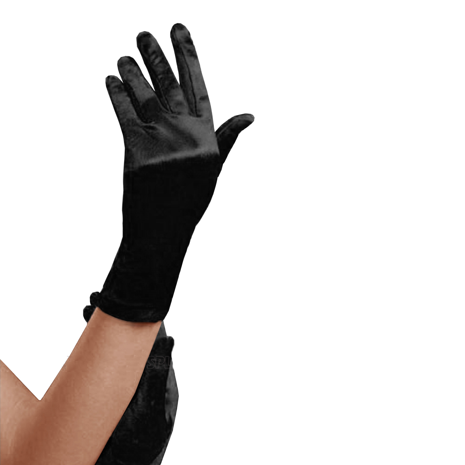 Short_black_satin_gloves