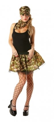 Ladies Army Sexy Soldier Costume