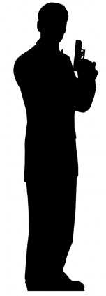 James_Bond_silhouette_cutouts