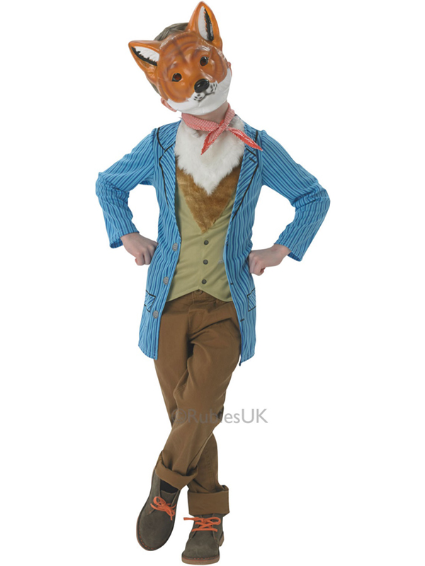 Fantastic Mr Fox Costume Kids Fancy Dress Outfit