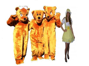 Goldilocks and the Three Bears Costumes Fairy Tale Fancy Dress