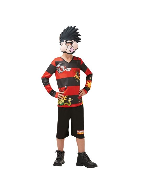 Dennis The Menace Costume Child, World Book Day Costume