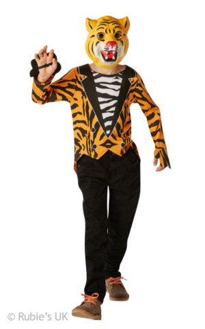 Kids Tiger Costume, the Tiger Who Came to Tea Fancy Dress