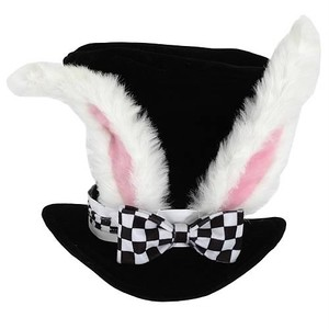 March Hare Top Hat, Tea Party Accessory, Mad Hatter