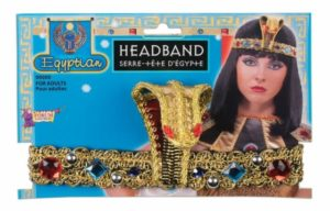 Gold Snake Egyptian Headpiece