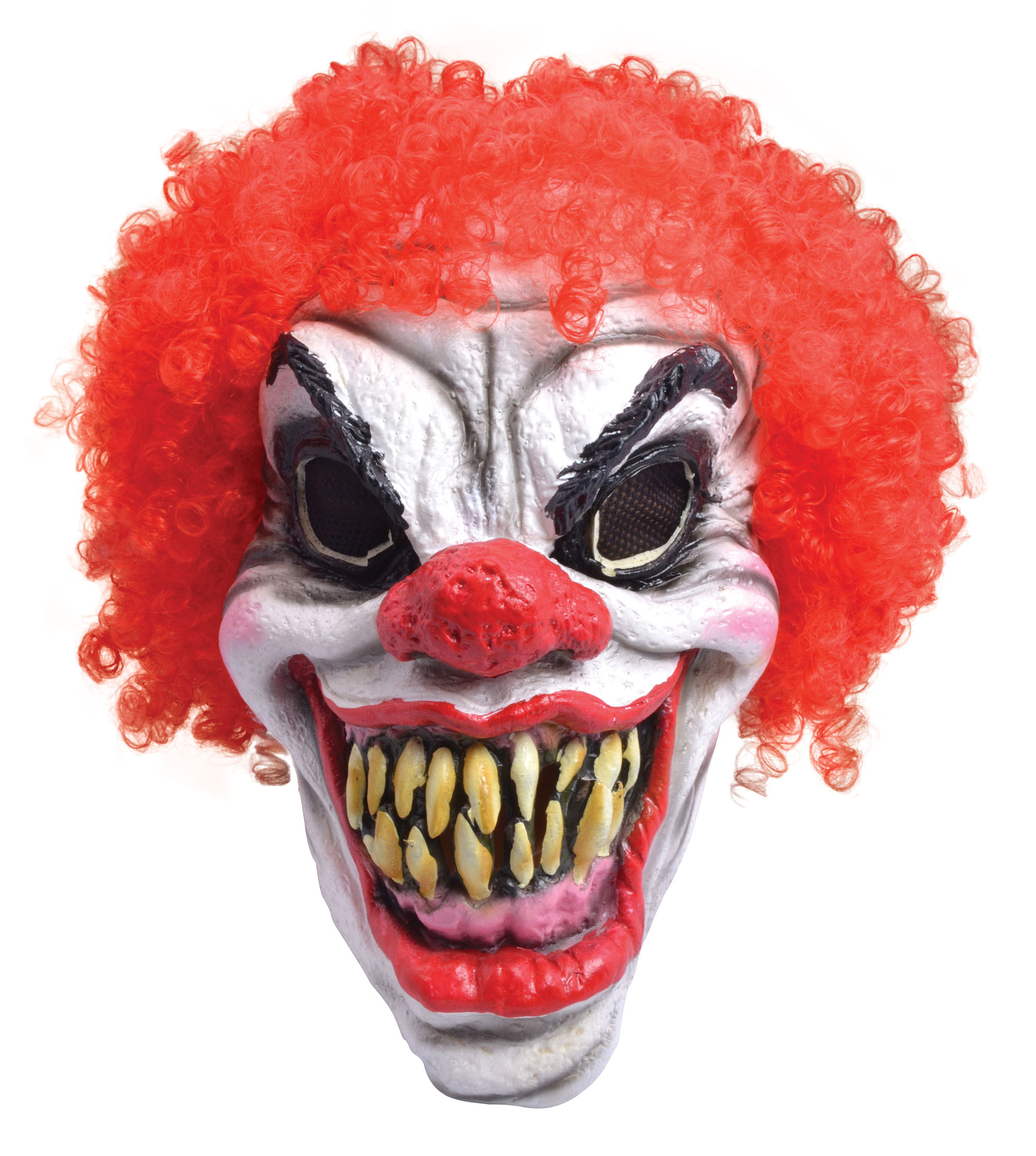 Horror Clown Mask and Hair