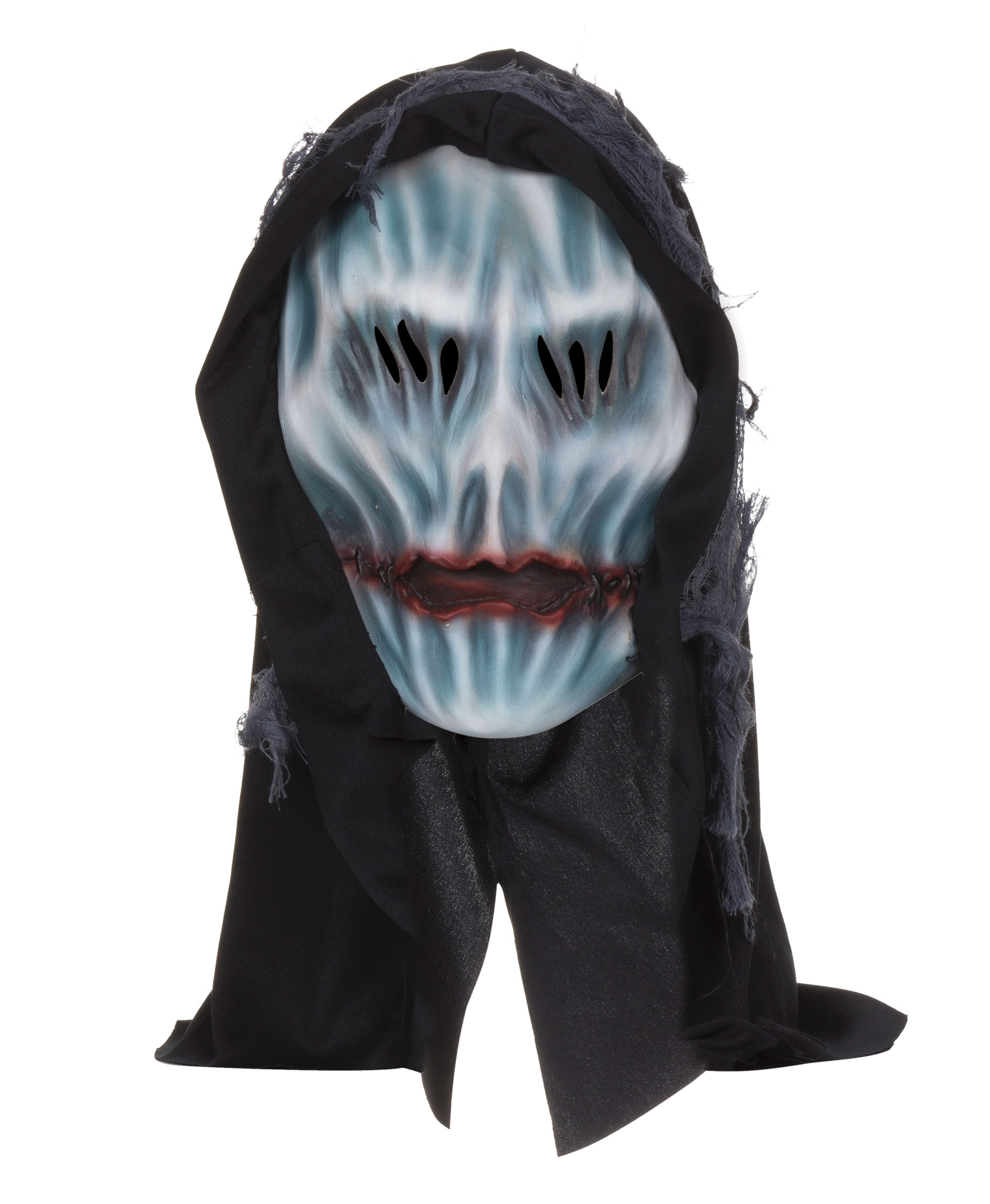 Hooded Ghost Mask Rubber