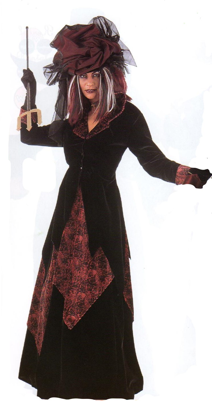 Ladies Gothic Halloween Costume