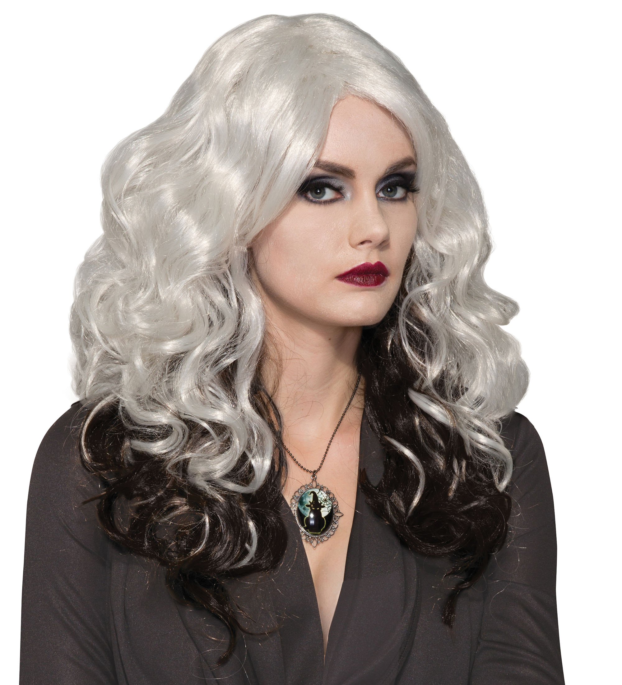 Silver Cast Ladies Halloween Wigs Storm