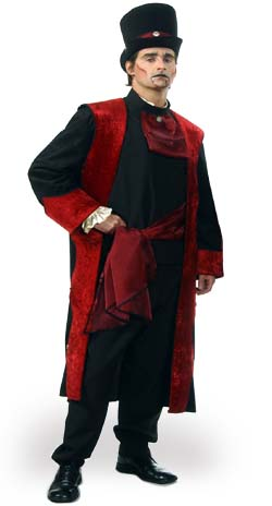The Baron of Darkness Costume