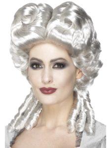 White Marie Antoinette Costume Wig