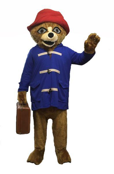 Marmalade Bear Costume Mascot