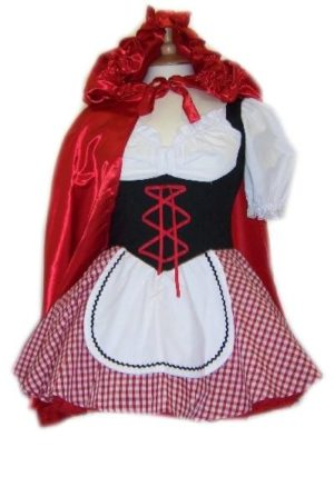 Adult Red Riding Hood Costume 10-12