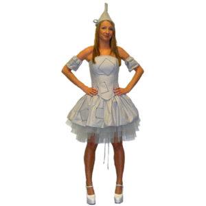 tin man costume girl