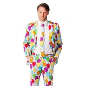 Party Suit Balloon Design