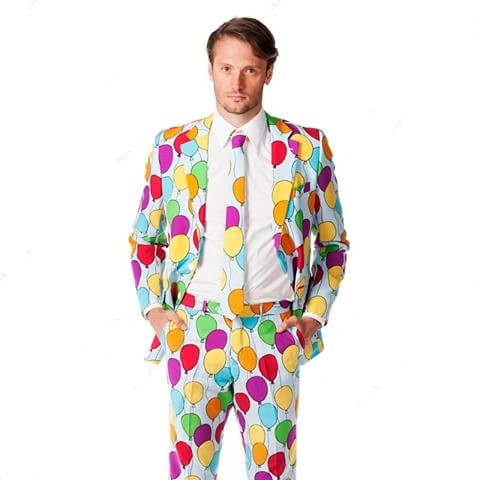 Party Suit Balloon Design