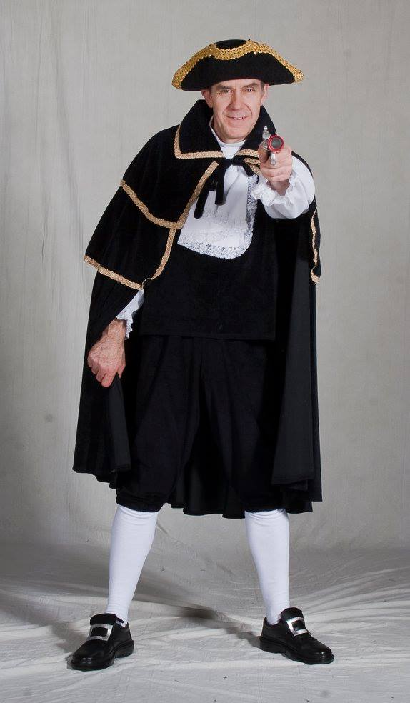 Highway Man Costume Dick Turpin Fancy Dress