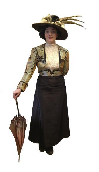 Elegant Walking Out Edwardian Fancy Dress