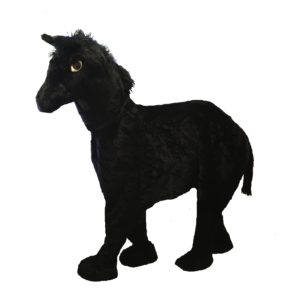 Pantomime 2 Person Horse Costume Black Stallion