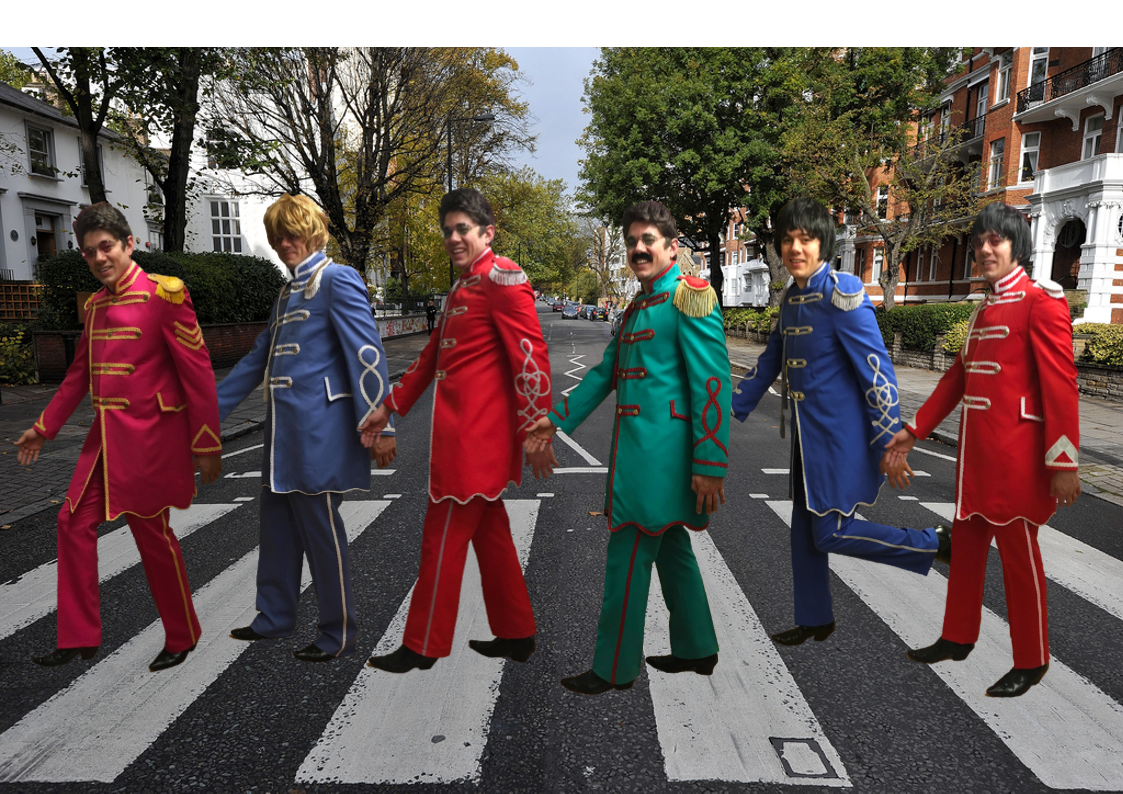 The Beatles Fancy Dress Group Hire Build Your Own Package