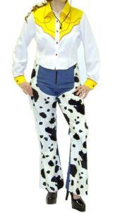 Adult Cowgirl Outfit Toy Story Jessie Fancy Dress Costume Ladies