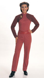 Adult Star Trek Deep Space 9 Major Kira Fancy Dress Costume Small