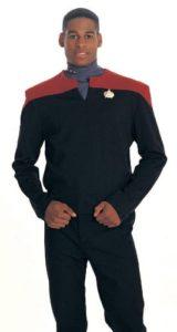 Adult Star Trek Deep Space 9 Commander Sisko Costume Medium