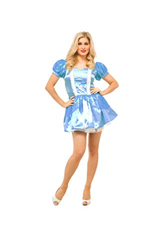 Sexy Cinderella Dress with Sparkles Costume to Charm your Fairytale Prince!