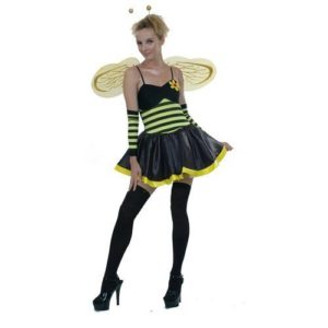 Bumblebee costume for a lady who knows she's the Queen Bee!