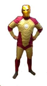 Hire Deluxe Adult Stark Man Costume Iron Fancy Dress