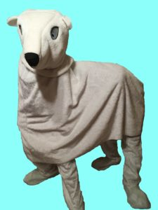 High Quality Hire 2 Person Polar Bear Costume