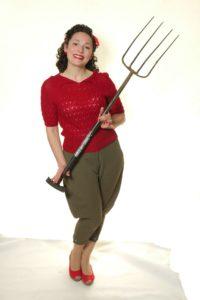 WW2 Womens Land Army Breeches Jumper Set