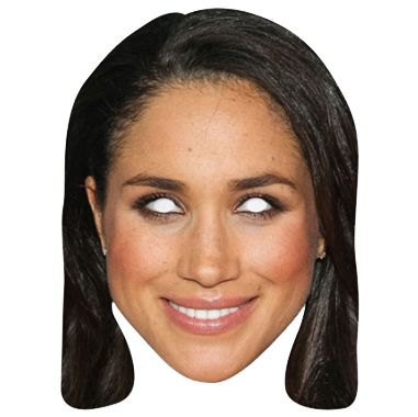 Adult's Royal Family Meghan Markle Face Mask Card