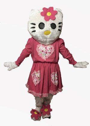 Deluxe Hello Kitten Fancy Dress Costume Hire