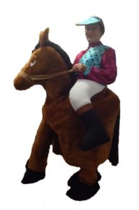 Deluxe Adult Ride-On Horse and Jockey Costume