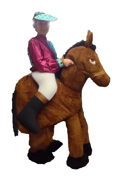 horse jockey costume