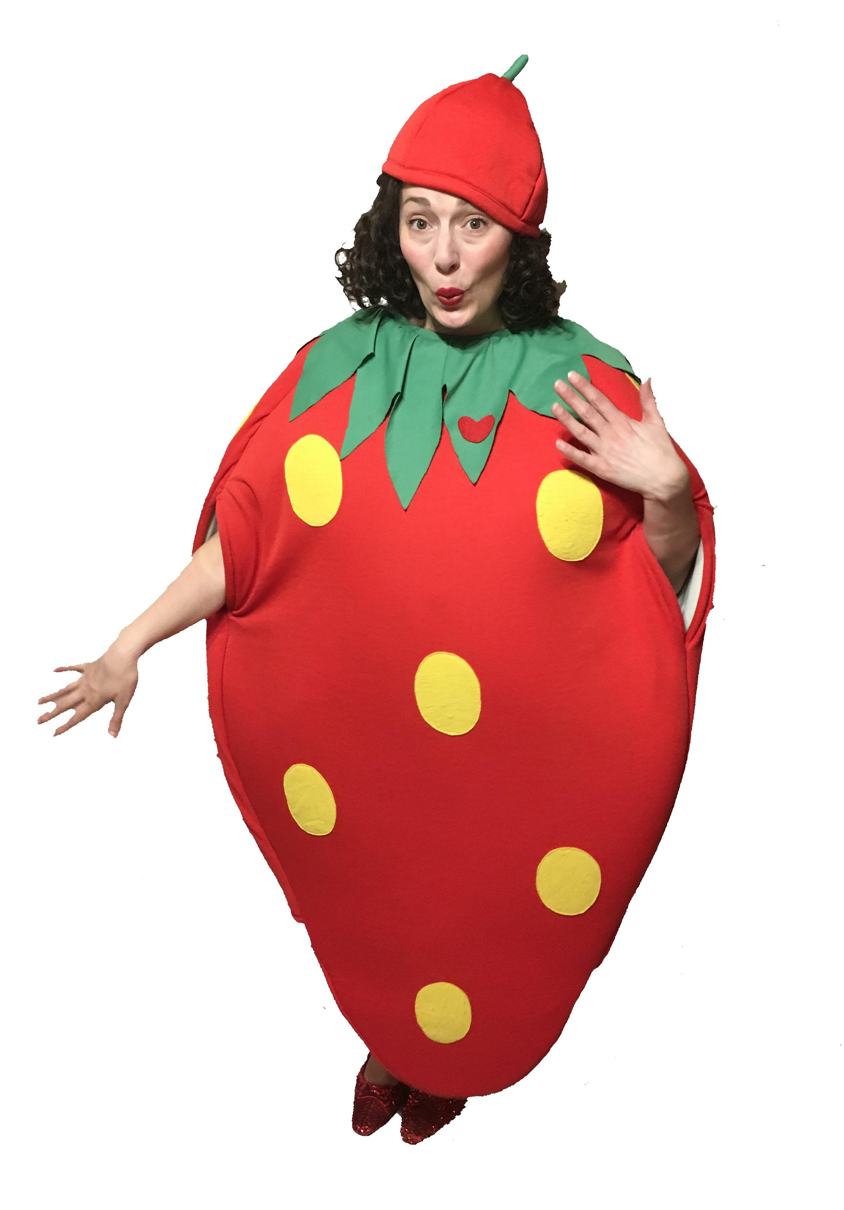 strawberry fancy dress