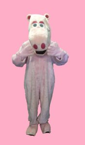 Rainbow Fancy Dress George Outfit Pink Hippo Costume