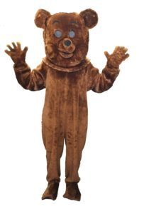 Rainbow Fancy Dress Bungle Costume Bear Outfit