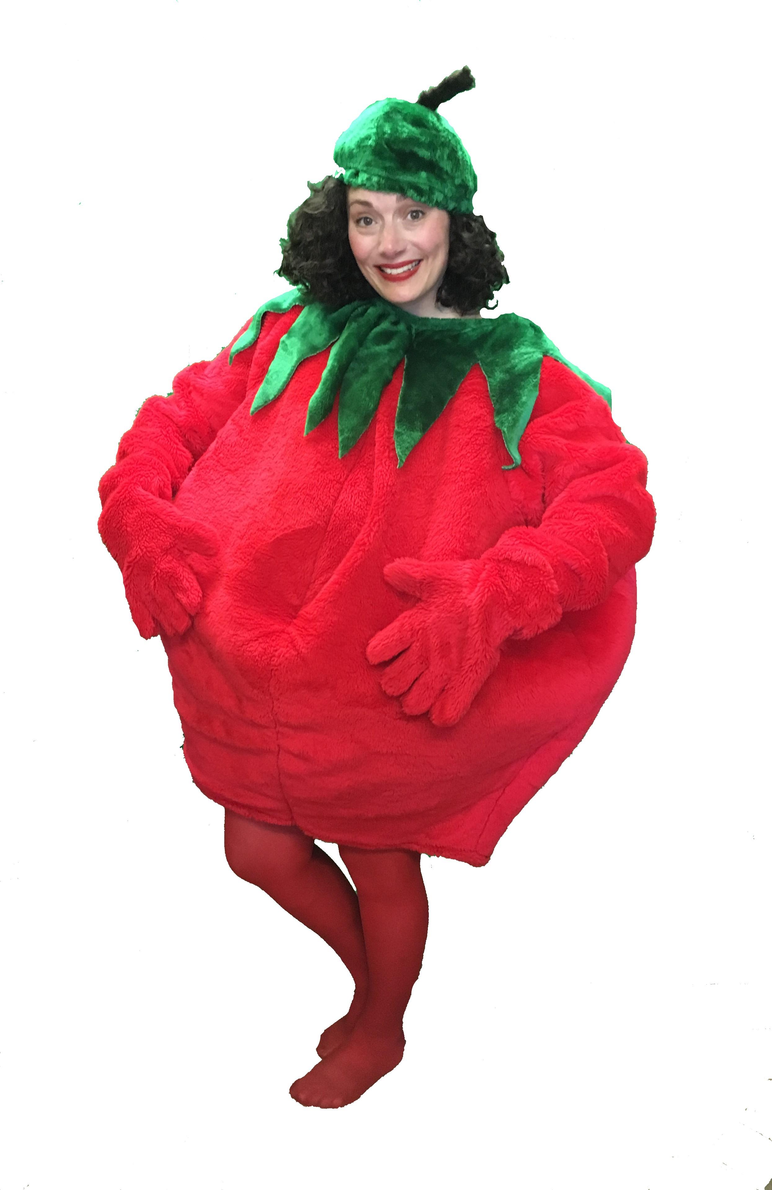 tomato fancy dress costume