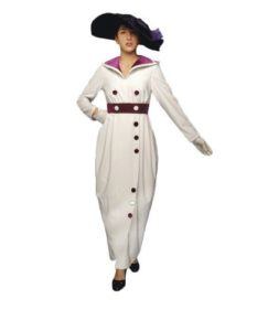 Titanic Costume Edwardian 1st Class Ladies Travelling Dress