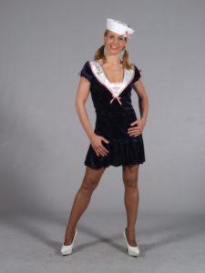 Sexy Adult Womens Sailor Costume Nautical Fancy Dress