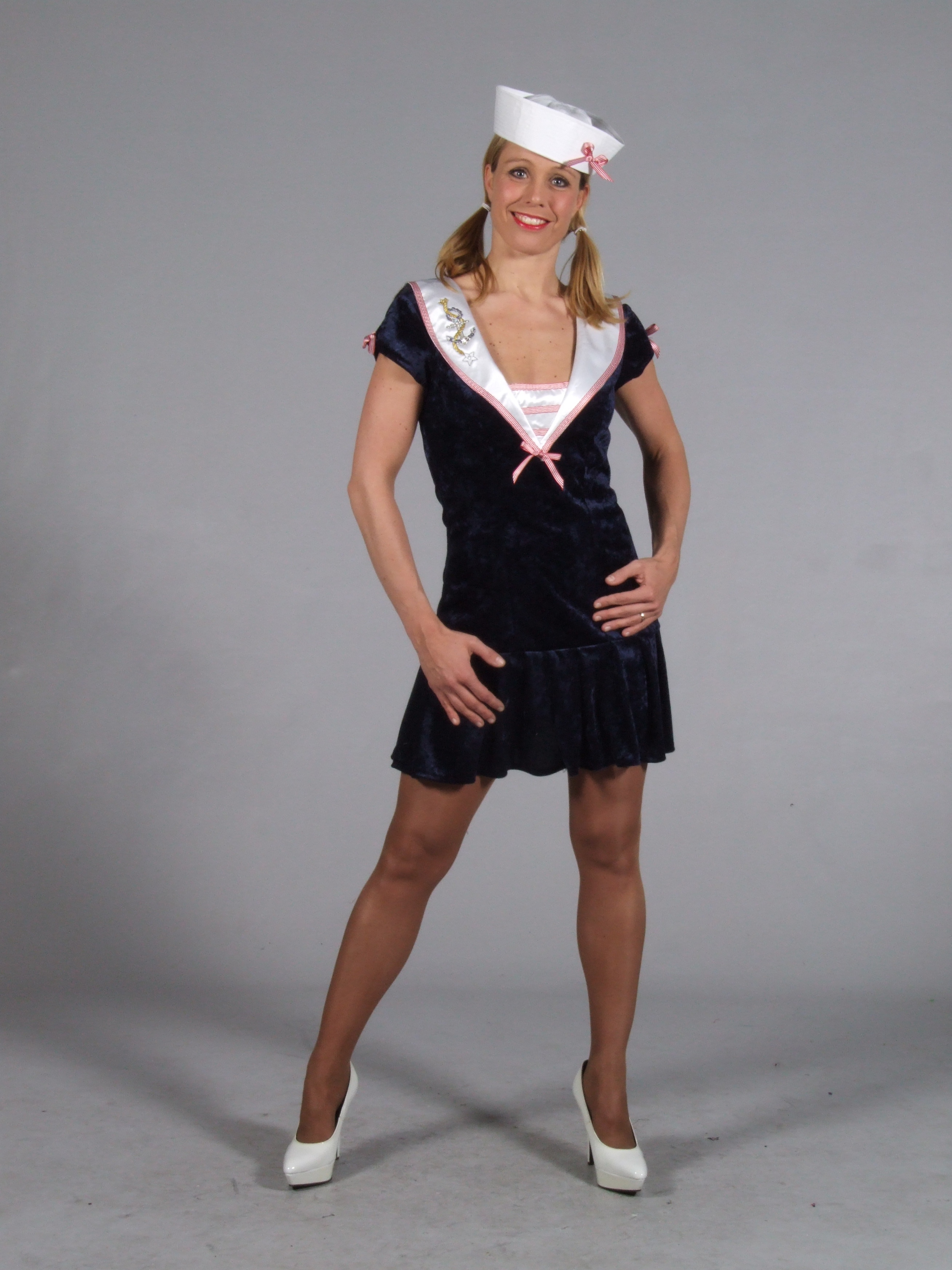Sexy Adult Womens Sailor Costume Nautical Fancy Dress
