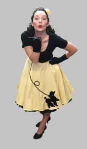 50s Rock N Roll Skirt and Top 1950s Fancy Dress